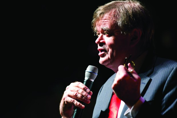 Garrison Keillor (Courtesy of Eric Hageness)