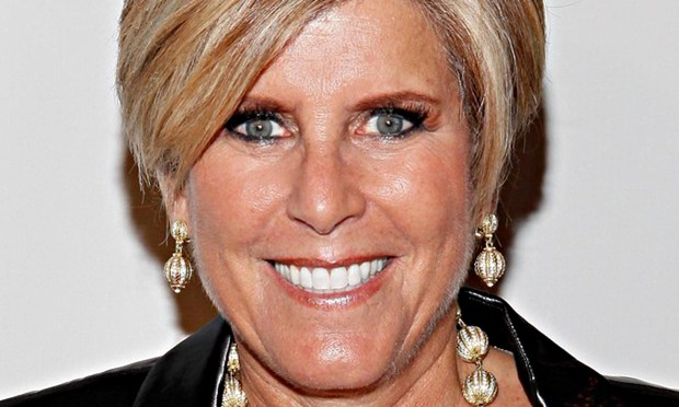 Good birthday on you, Suze Orman. The TV financial advisor is 65. (Getty Images: Cindy Ord)