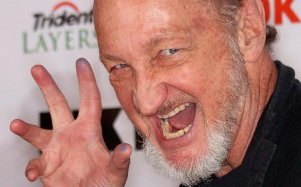 "Actor Robert Englund -- who plays frightening Freddie Krueger of ""A Nightmare on Elm Street"" -- is 69. (Getty Images: Frederick M. Brown)"