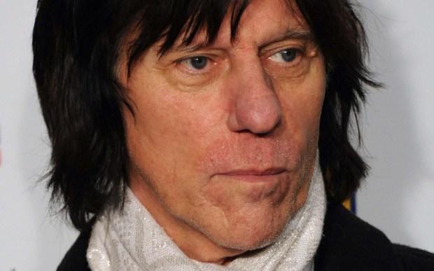 Rock guitar legend Jeff Beck is 72. (Getty Images: Stuart Wilson)