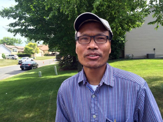 Bona Phan was a neighbor of Channy Kek for years in Eagan and a friend of hers. Kek, 55, was a pedestrian who was struck and killed in St. Paul on June 7, 2016. Phan is pictured June 8, 2016, in Eagan. (Pioneer Press: Mara Gottfried)