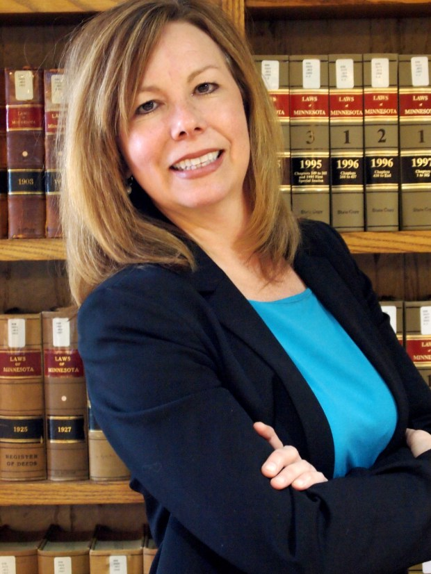Lisa Janzen, whom Gov. Mark Dayton appointed as Fourth District Court Judge on June 24, 2016. (Courtesy photo)
