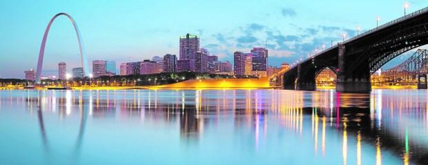 St. Louis skyline (ThinkStock.com)