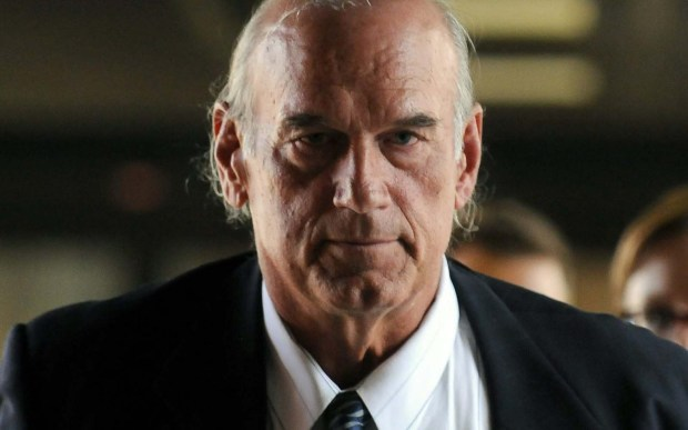 """Former professional wrestler and conspiracy-theory buff Minnesota Gov. Jesse Ventura was born James George Janos 65 years ago in Minneapolis. He's awfully buttoned-up as he heads to court in 2014 over the """"American Sniper"""" defamation lawsuit he ended up winning. (Pioneer Press: Scott Takushi)"""