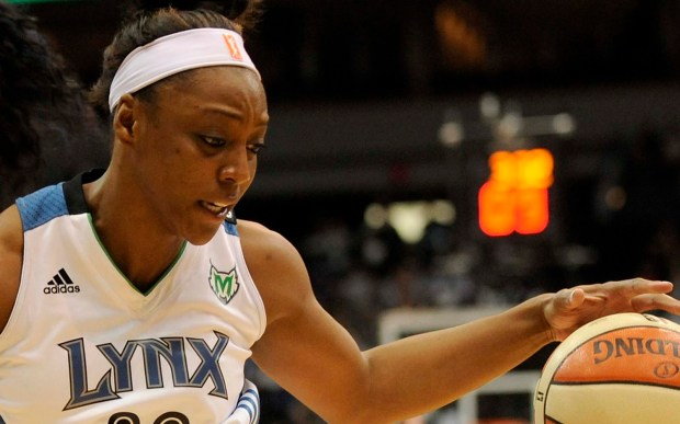 Minnesota Lynx guard Monica Wright is 28. Bachelors out there, take note: She's no longer engaged to NBA star Kevin Durant. (Getty Images: Hannah Foslien)
