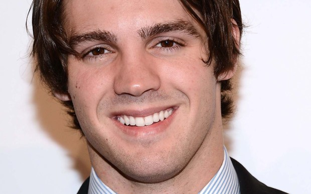 "Actor Steven R. McQueen of ""The Vampire Diaries"" is 28. (Getty Images: Araya Diaz)"