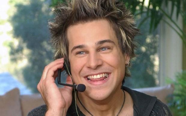 Singer Ryan Cabrera is 34. (Associated Press: Rene Macura)