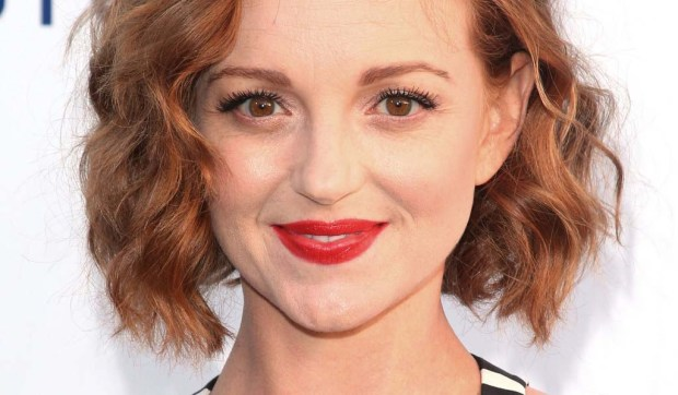 "Actress Jayma Mays, of ""Glee,"" is 37. (Getty Images: Mark Davis)"