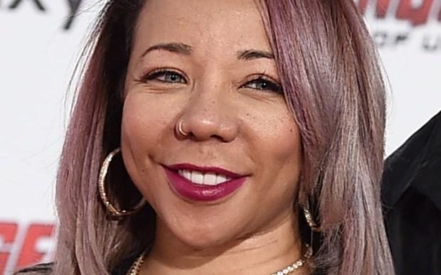 R&B singer Tameka Cottle -- aka Tiny -- of Xcsape is 41. (Jordan Strauss/Invision)