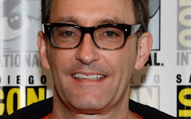 "A comic many of us know but few of us recognize -- Tom Kenny, voice of ""Spongebob Squarepants"" -- is 54. I'm hooked! (Getty Images: Ethan Miller)"
