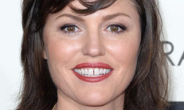 "Actress Jorja Fox of ""CSI"" is 48. (Getty Images: Jason Merritt)"