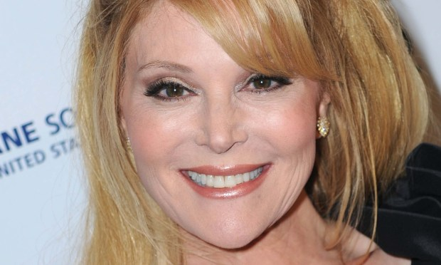 "Actress Audrey Landers of ""Dallas"" is 60. (Getty Images: Frazer Harrison)"