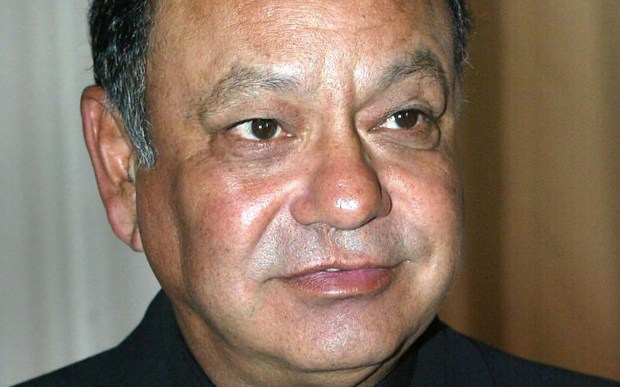 "Actor-comedian Cheech Marin, nicknamed for the fried pork rind ""chicharones,"" a munchie he and comic partner Tommy Chong surely jonesed for in ""Up in Smoke,"" is 70. (Associated Press: Jill Connelly)"