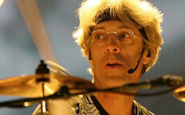 Drummer Stewart Copeland of the band the Police is 64. (Courtesy of Getty Images)