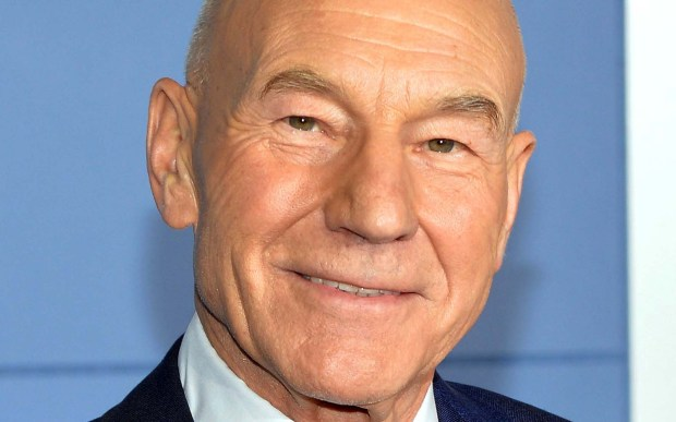 "Actor Patrick Stewart -- Captain Jean-Luc Picard in ""Star Trek: The Next Generation"" and Professor X of ""X-Men"" -- is 76. The distinguished former Shakespearean actor narrated the horrid 2015 movie ""Ted 2."" (Getty Images: Mike Coppola)"