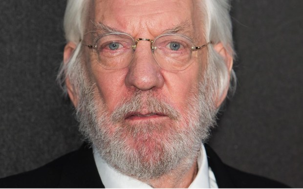 "Actor Donald Sutherland -- ""The Hunger Games,"" ""M*A*S*H*,"" ""Invasion of the Body Snatchers,"" ""Ordinary People"" -- is 81. (Getty Images: Ian Gavan) CANNES, FRANCE - MAY 17: Actor Donald Sutherland attends ""The Hunger Games: Mockingjay Part 1"" party at the 67th Annual Cannes Film Festival on May 17, 2014 in Cannes, France. (Photo by Ian Gavan/Getty Images)"