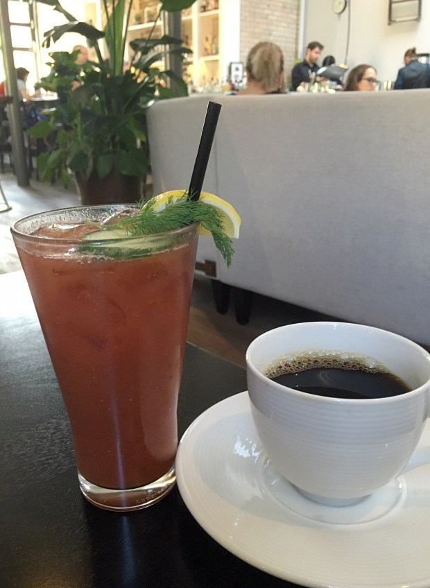 July 25, 2016 photo of Bloody Mary at Spoon and Stable in Minneapolis. (Pioneer Press: Jessica Fleming)