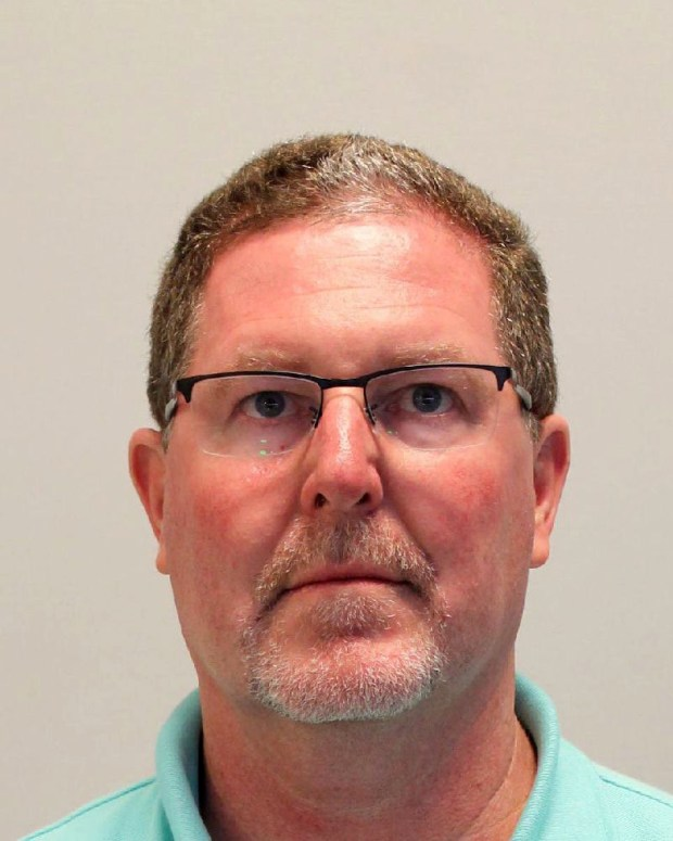 July 2016 courtesy photo of Glenn Charles Burke, 54, of Inver Grove Heights. Burke, the former South St. Paul aiport manager, is accused of stealing more than $110,000 from the airport over six years. He has been charged in Dakota County District Court with seven counts of theft by swindle for allegedly siphoning from May 2009 through February 2015. Photo courtesy of the Dakota County Sheriff's Office.