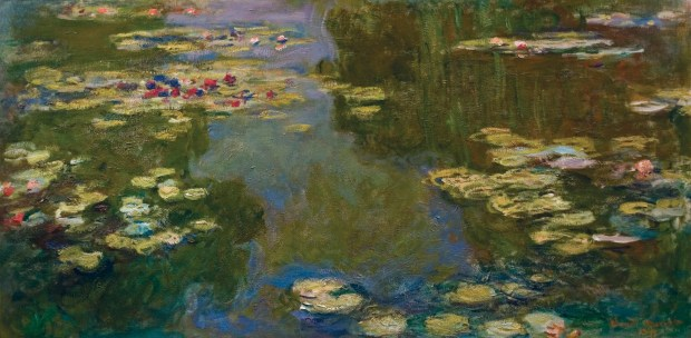 """Claude Monet, """"The Water Lily Pond"""" (1919) Image: Paul G. Allen Family Collection"""