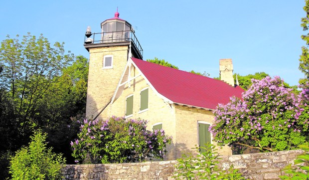 Several lighhouses populate Door County, Wis., including Eagle Bluff Lighthouse at Peninsula State Park. (Door County Visitor Bureau)