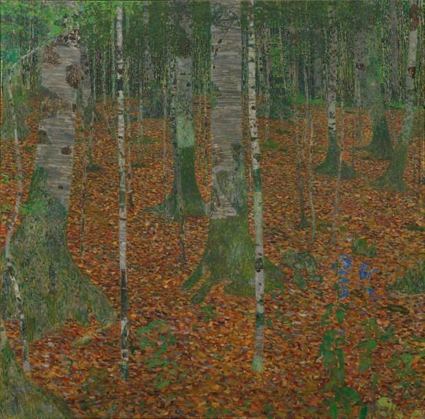 """Gustav Klimt, """"Birch Forest"""" (circa 1903) Image: Paul G. Allen Family Collection"""