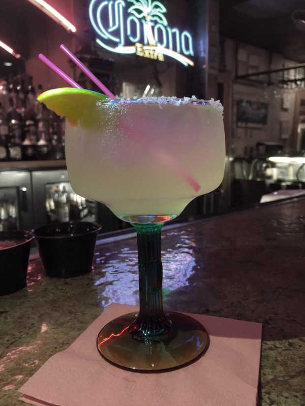 July 8, 2016 photo of Poco Loco margarita at Boca Chica in St. Paul. (Pioneer Press: Jessica Fleming)