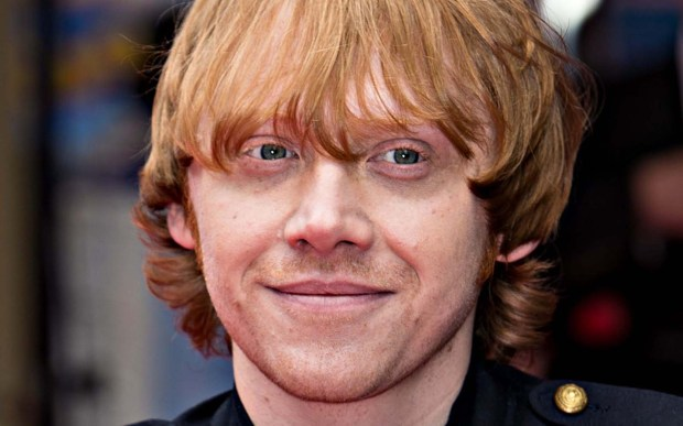 "Actor Rupert Grint is 28 and has finished his run as lovable pal Ron Weasley in the ""Harry Potter"" movies. He had a follow-up role in the movie ""CBGB,"" about the storied N.Y.C. punk-rock venue. (Getty Images: Ian Gavan)"