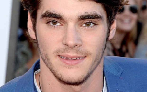 """Actor RJ Mitte is 24 and, like his character on AMC's """"Breaking Bad,"""" he has cerebral palsy. He's an active spokesman for actors with disabilities. (Getty Images: Jason Merritt)"""