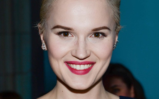 "Author Veronica Roth, who co-produced the movies ""Divergent"" and ""Insurgent,"" based on her books, is 28. She attended Carleton College before decamping for Northwestern. (Associated Press: Evan Agostini)"