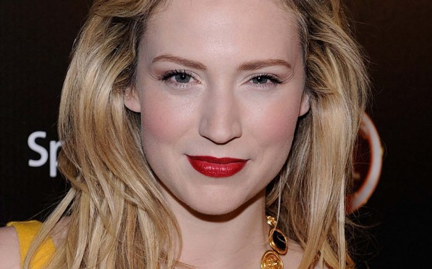 """Belle Plaine, Minn., native and actress Beth Riesgraf of """"Leverage"""" and now the web series """"Caper"""" is 38. She has a son, Pilot Inspektor Lee, with ex-beau and actor Jason Lee. (Getty Images: Frazer Harrison)"""