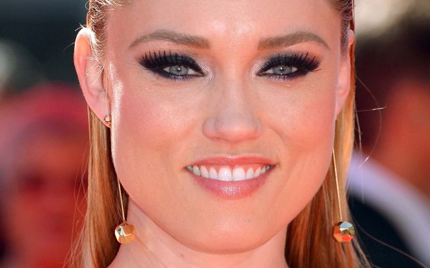 """Actress Clare Grant is 37. She does voice work with her husband, actor and writer Seth Green, on his Adult Swim show """"Robot Chicken."""" (Getty Images: Mark Davis)"""