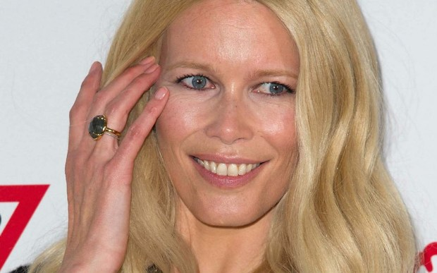 Supermodel Claudia Schiffer is 46. (Getty Images: Pascal Le Segretain)