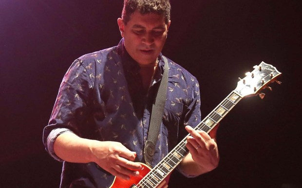 Guitarist Pat Smear of the Foo Fighters is 57. (Getty Images: Mike Lawrie)