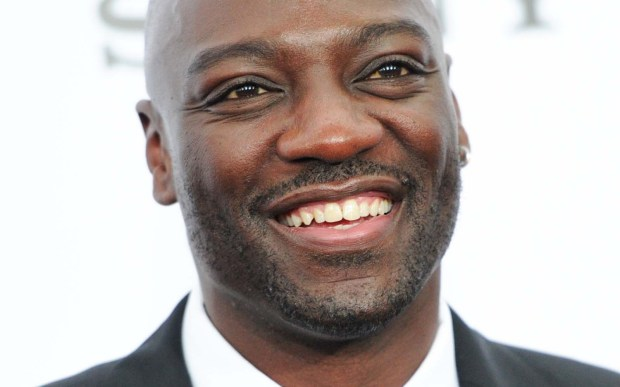 "English actor Adewale Akinnuoye-Agbaje -- ""The Bourne Identity,"" ""Game of Thrones"" -- is 49. (Associated Press: Evan Agostini)"