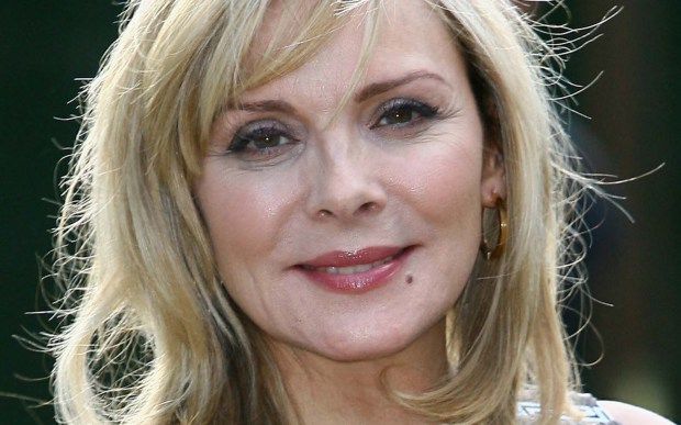 """English actress Kim Cattrall of """"Sex and the City"""" is an amazing 60. More recently she was seen in the dark HBO comedy """"Sensitive Skin."""" (Getty Images: Gareth Cattermole)"""