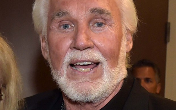 Singer Kenny Rogers is 78. (Getty Images: Rick Diamond)
