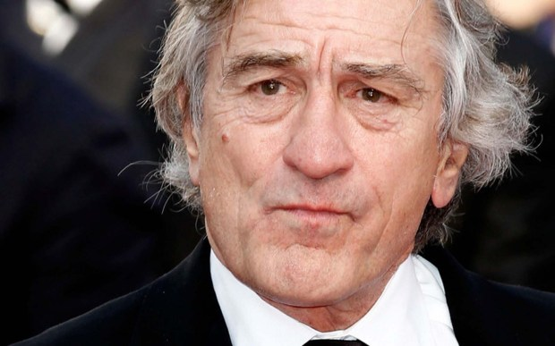 You talkin' to him?? If so, wish actor Robert DeNiro a happy 73rd. (Getty Images: Andreas Rentz)