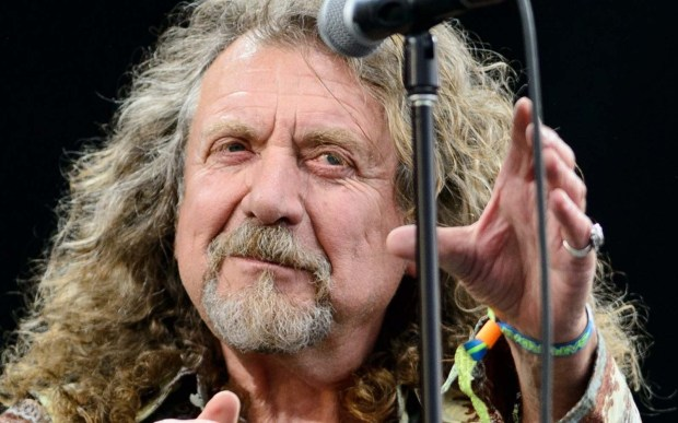 From Led Zeppelin to Nashville: Singer Robert Plant is 68. (Getty Images: Leon Neal)