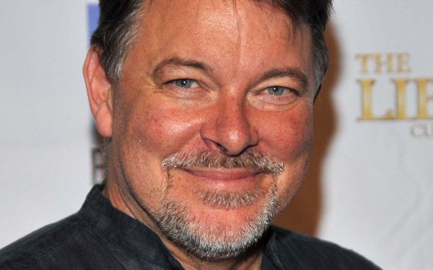 "Actor Jonathan Frakes – Number One in ""Star Trek: The Next Generation"" -- is 64. (Getty Images: Frazer Harrison)"
