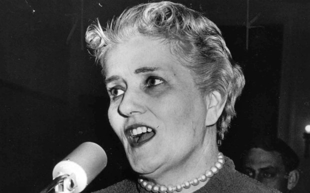 """Former Minnesota Congresswoman Coya Knutson, a Democrat from Oklee, was born on this day in 1912. She's pictured in 1958, her last year of four in Washington. Many Minnesotans know her from the """"Coya, come home"""" campaign, fueled by a news release that resulted in her election defeat. But that's a myth, according to the Minnesota History Center: """"Printed in newspapers around the country, the statement portrayed Andy Knutson as a neglected husband and hinted that Coya was having an affair. ... Some believe it came from high up the DFL ladder, while others argue local party officials wrote it. Almost everyone agrees now that Andy did not write it."""" Knutson, who also served in the Minnesota House, died in 1996. (Pioneer Press archives)"""