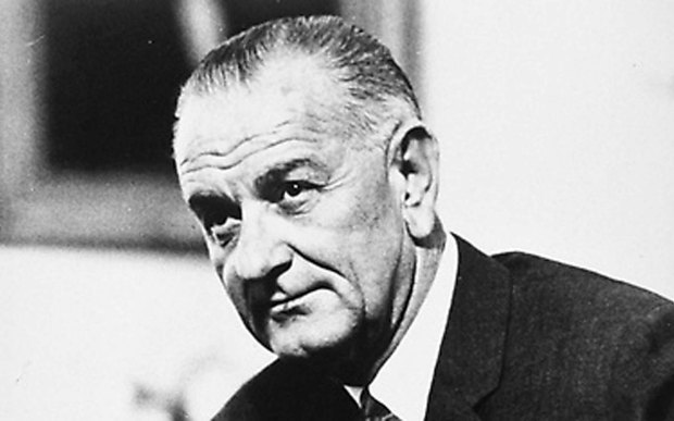 The 36th U.S. President Lyndon B. Johnson — LBJ — we should all have such awesome initials — was born on this day in 1908. He died in 1973, just years after signing the Civil Rights Act of 1964. (Courtesy of the National Archives/Newsmakers)