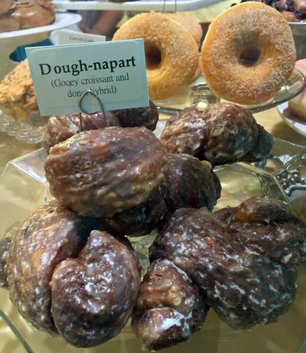 August 11, 2016 photo of Classic Dough-Naparts, a croissant and donut fused delight, at Angel Food Bakery & Donut Bar in downtown Minneapolis. (Pioneer Press: Nancy Ngo)