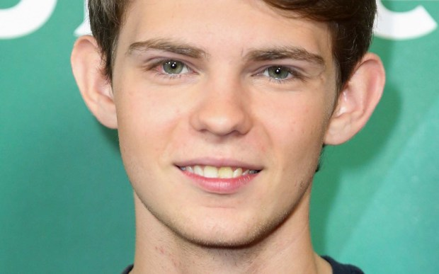 """Actor Robbie Kay of """"Once Upon a Time"""" and """"Heroes Reborn"""" is 21. He had the title role in the 2008 TV movie """"Pinocchio."""" (Associated Press: Rich Fury)"""