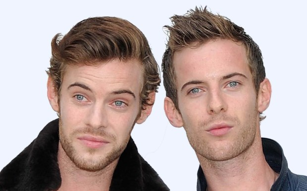 """Actors Harry, left, and Luke Treadaway are 32. Luke was lauded for his role in """"The Curious Incident of the Dog in the Night-Time""""; Harry has been seen recently in """"The Lone Ranger"""" and """"Cockneys vs. Zombies."""" (Getty Images: Gareth Cattermole)"""