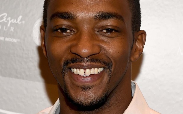 "Actor Anthony Mackie — Falcon, in ""Captain America: The Winter Soldier"" — is 37. (Getty Images: Michael Buckner)"