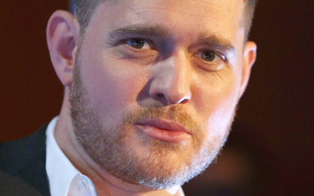 It's a Beautiful Day for crooner and new dad Michael Buble, who is 41. (Getty Images: Cameron Spencer)