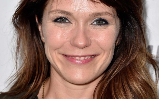"Actress Katie Aselton of TV's ""The League"" (about a fantasy football league) is 38. (Getty Images: Frazer Harrison)"