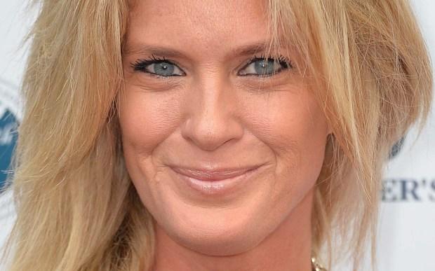 Model Rachel Hunter is 47. She's a former Mrs. Rod Stewart. (Harrison/Getty Images)