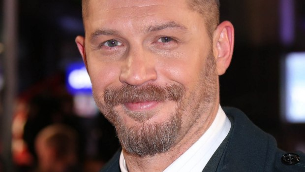 """English actor Tom Hardy — """"Mad Max: Fury Road,"""" """"The Revenant,"""" """"Inception"""" — is 39. You can also catch him in the BBC's """"Peaky Blinders."""" (Joel Ryan/Invision/AP)"""