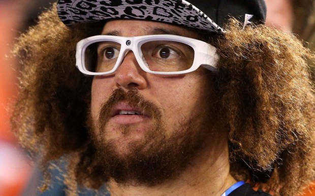 Musician Redfoo, son of music mogul Berry Gordy and half of LMFAO, is 41. (Getty Images: Clive Brunskill)